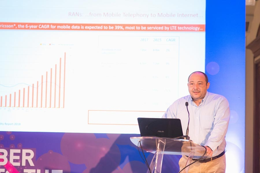 Dimitris Kolokotronis (FASMETRICS S.A. President &CEO) spoke at the 10th Infocom Cyprus Conference, in Hilton Nicosia!